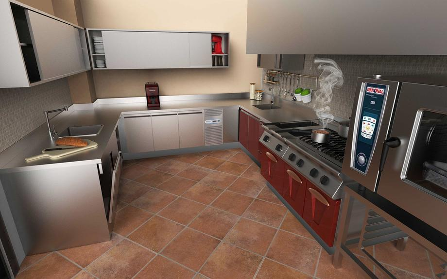 Kitchen Private Villa_02