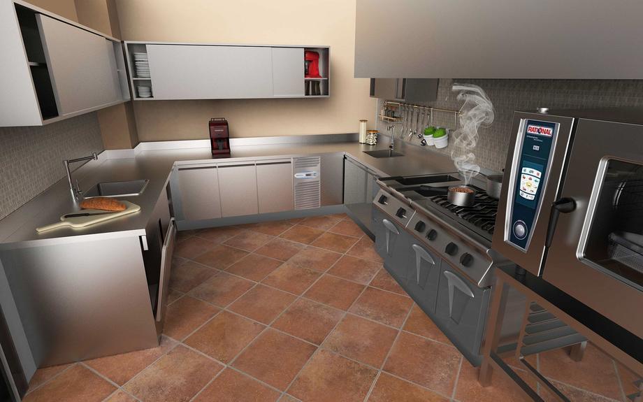 Kitchen Private Villa_03
