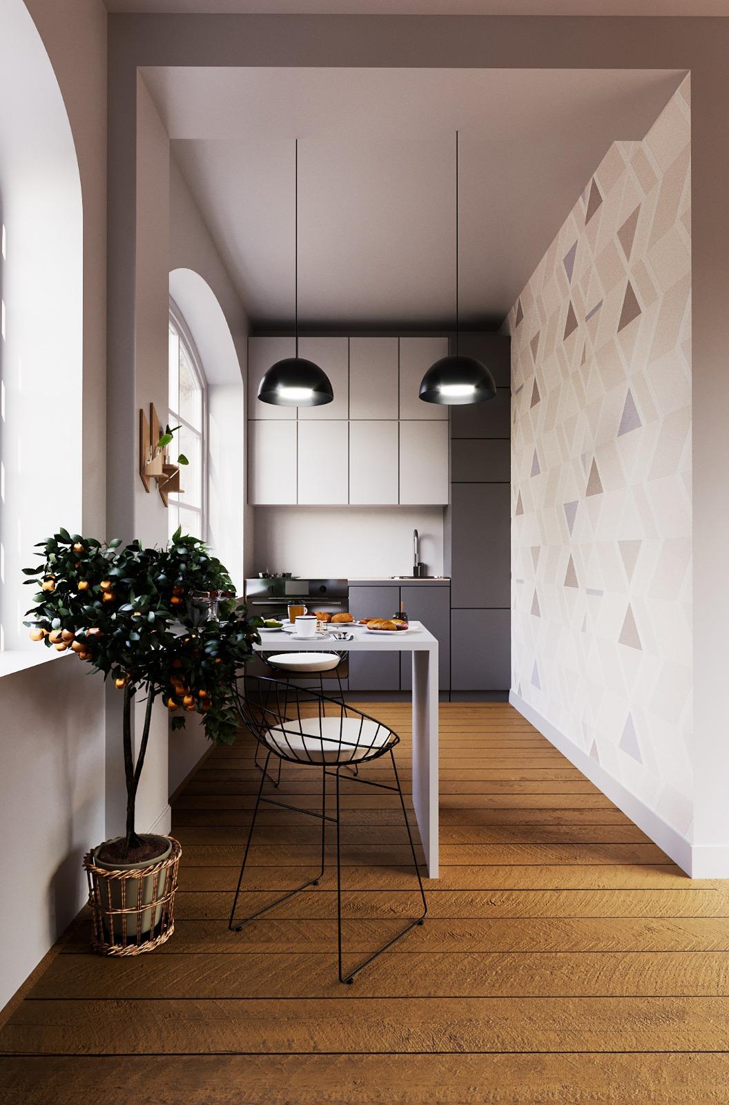 Scandinavian style kitchen
